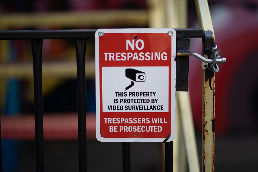 What's the difference between trespassing and criminal trespassing in Raleigh, NC.?